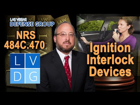 "Do I have to install an ""ignition interlock device"" in my car after a DUI in NV?"