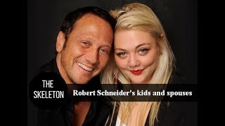 Rob Schneider's kids and spouses
