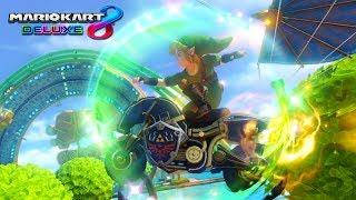 PROBANDO LA COMBINACIÓN DE THE LEGEND OF ZELDA DE MARIO KART 8 DELUXE | Nintendo Switch