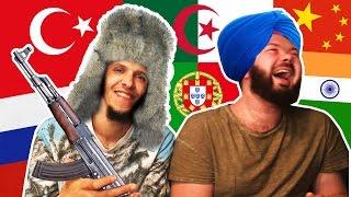 ON TESTE DES LANGUES ÉTRANGÈRES - Daniil le Russe (avec Momo Bente)