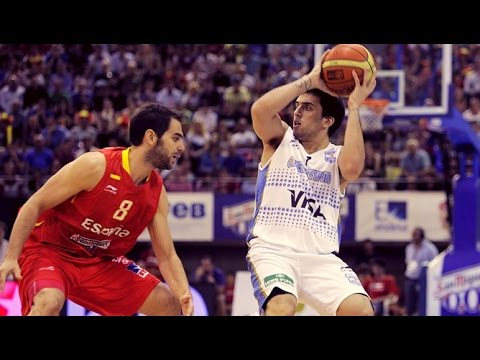 Argentina @ Spain 2012 Olympic Men's Basketball Exhibition FULL GAME Spanish