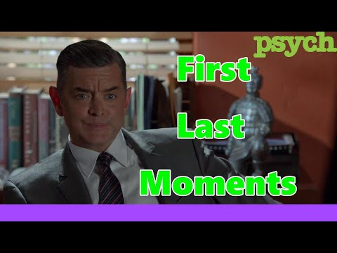 Psych Series Carlton Lassiter Fist And Last Moments (Timothy Omundson First And Last Words)