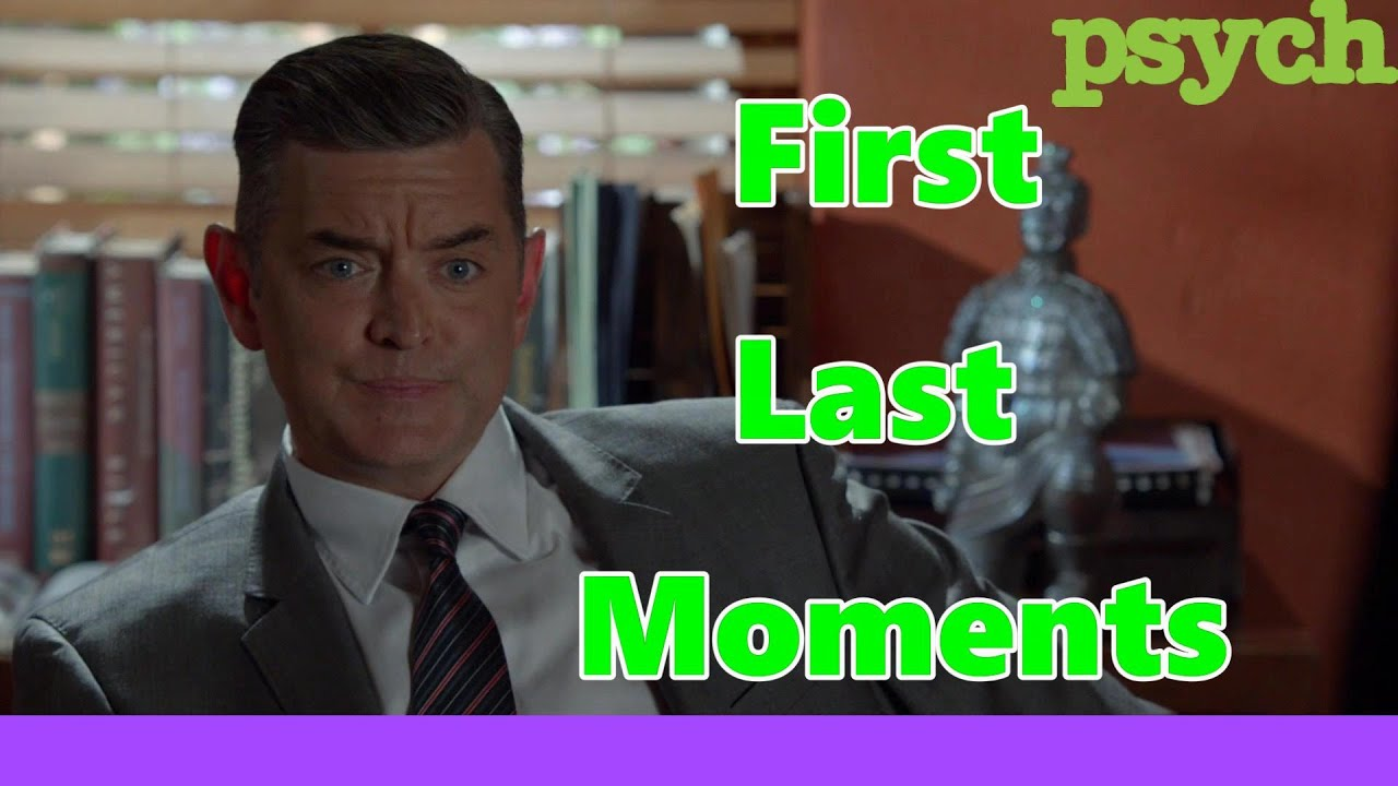 Download Psych series Carlton Lassiter Fist and last moments (Timothy Omundson first and last words)