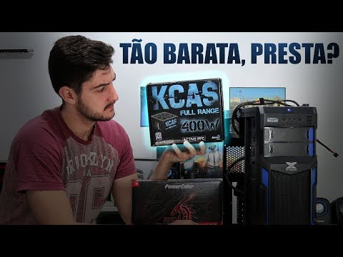 TODO MUNDO QUER SABER, KCAS 400W SUPER BARATA É BOA?