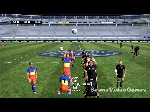 Rugby Challenge Gameplay (PC/HD)