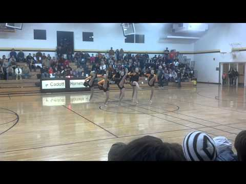 Cadott high school competition routine