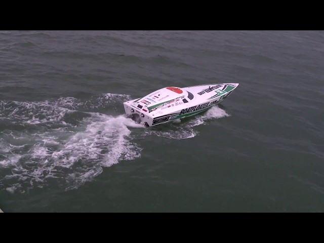 Sarasota Power Boat Grand Prix Victory for Scott Free Racing