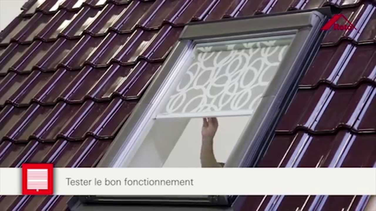 Fr Montage Store Toile Standard Roto Youtube