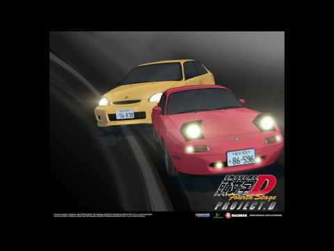 Initial D Fourth Stage All Racing Songs (Eurobeat)