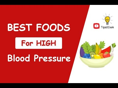 Foods That Help Lower Blood Pressure | Best Natural Foods For High Blood Pressure