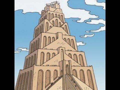 La Torre De Babel Para Niños