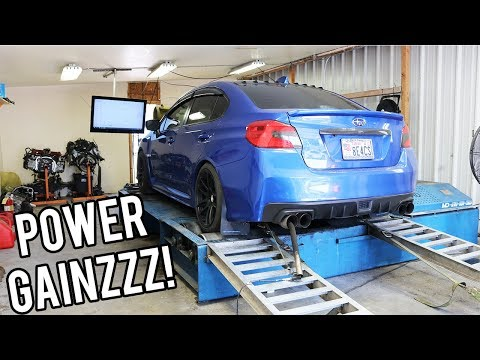 WRX Gets More Horsepower After Pro Dyno Tune!