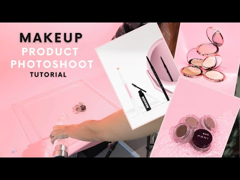 Cosmetic Product Photography Ideas: beauty product tutorial at home with Poni Cosmetics