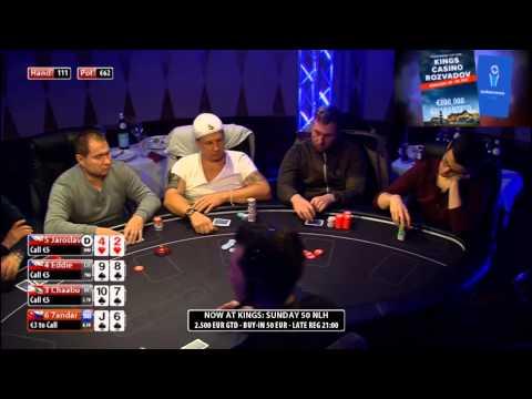 CASH KINGS E35 2/2 - DE - NLH 2/5 ante 5 - Live cash game poker show