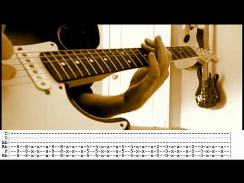 Sick Puppies - You're Going Down guitar cover WITH TABS