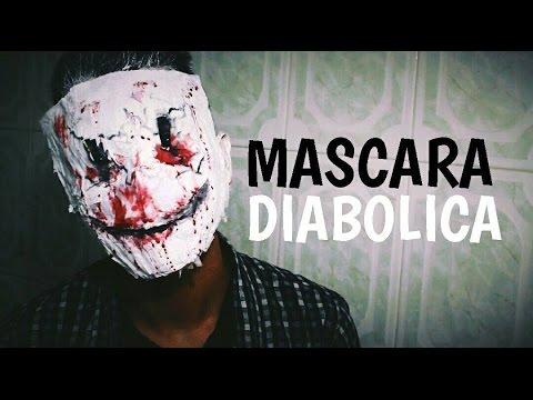 Como hacer una mascara diabolica youtube - Como hacer una mascara ...