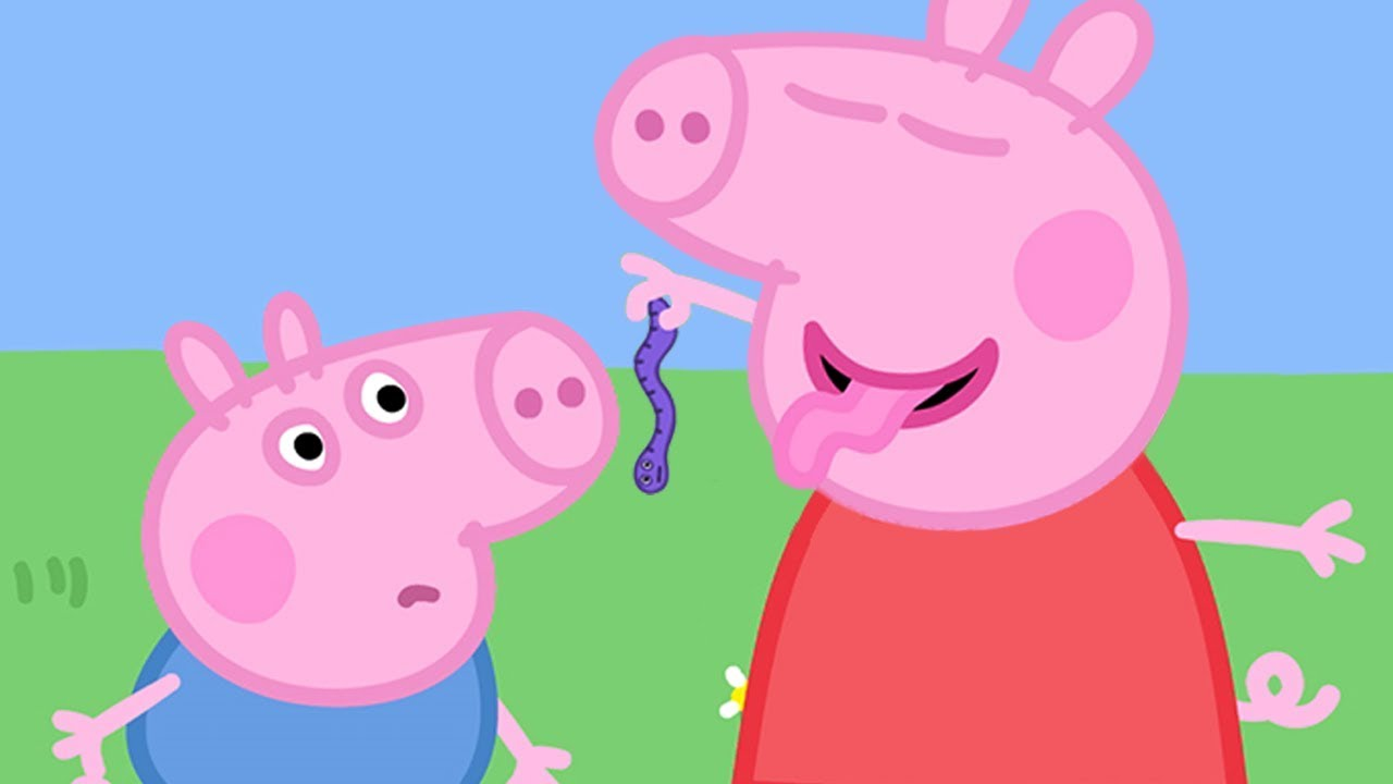 Peppa Pig Official Channel Peppa Pig And The Wriggly Worm