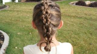 French Knotted Braid | Cute Girls Hairstyles