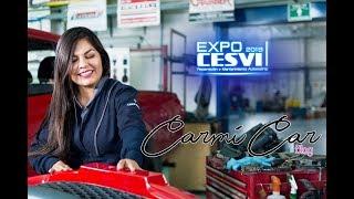 La master de la reparación automotriz en #ExpoCESVI2019