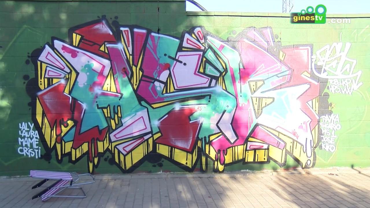 Más de 100 grafiteros participaron este fin de semana en el Encuentro Homenaje a BECE