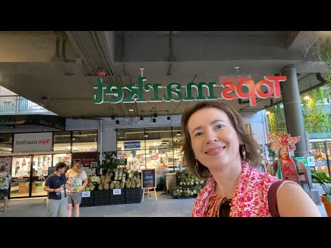 Discovering Tops Supermarket In Thailand