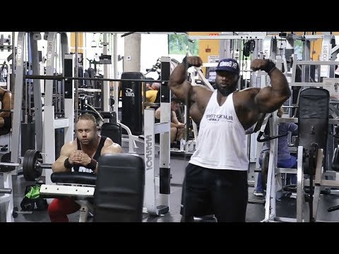 Akim Williams & Aaron Clark Heavy Shoulders & Arms Workout