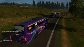 Euro Truck Simulator 2 Mod Bus Indonesia Gameplay #1