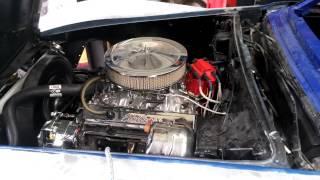 Redémarrage + essais passage de vitesse corvette c3 1977.