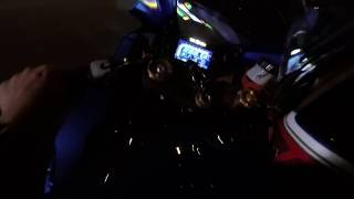 Suzuki Gsxr 1000R vs Kawasaki zx10R Winter PORTUGAL