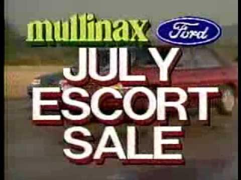 escort sale mullinax ford 39 94 commercial youtube. Black Bedroom Furniture Sets. Home Design Ideas