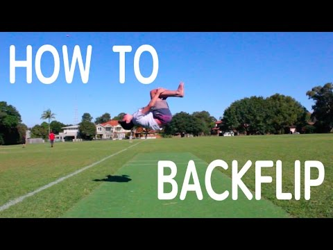 How To Backflip Fast | Tutorial For Beginners