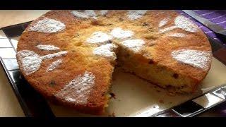 Walnut And Raisin Cake,كيكة رائعة بالعنب الجاف و الجوز,gâteau De Noix Et Aux Raisins