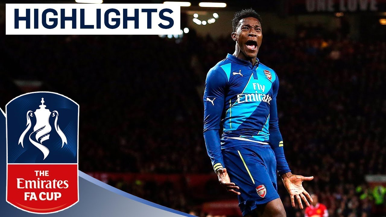 Manchester United 1 2 Arsenal 2015 Fa Cup R6 Goals Highlights Youtube
