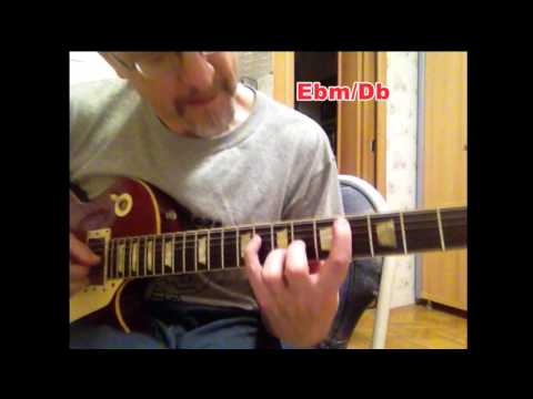 Round Midnight backing track guitar