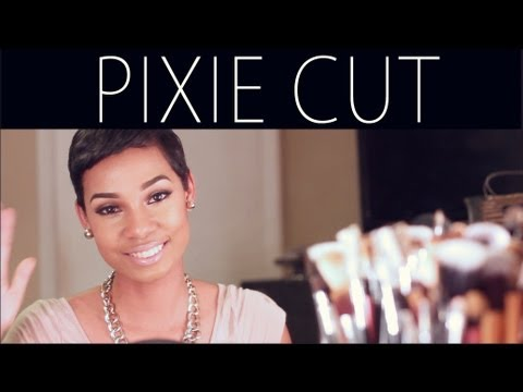 how to cut and style short hair pixie hair cut routine how to style products 7113 | hqdefault
