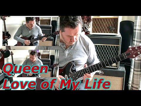 Queen - Love Of My Life - Guitar Solo Tutorial (Guitar Tab)