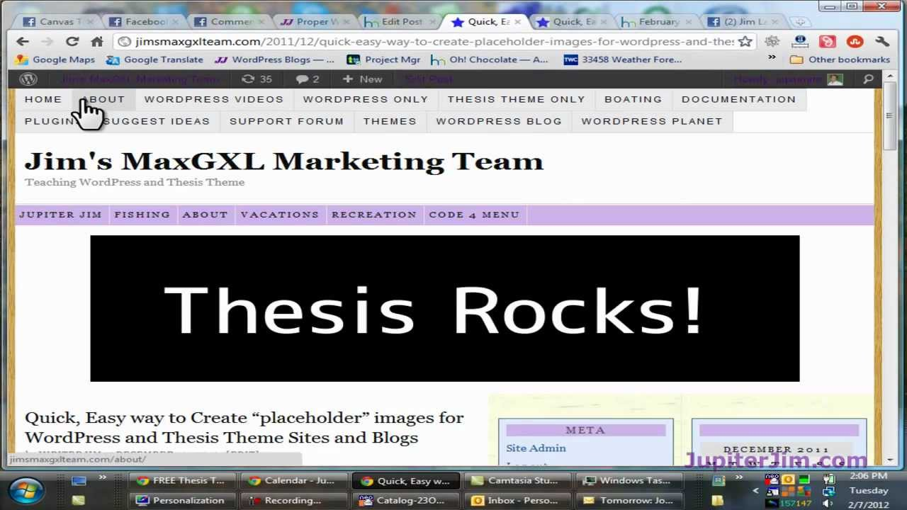 thesis theme change home page The custom home page template's even more valuable is that he does it in a way that makes drastic change more wordpress bloggers use thesis theme.