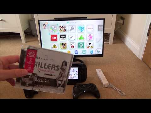 What Happens When you put a Music CD in a Nintendo Wii U
