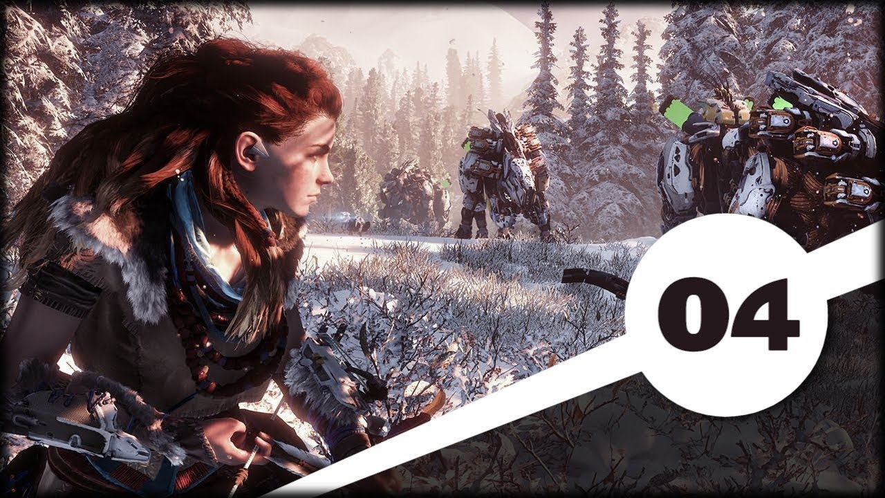 Horizon Zero Dawn: The Frozen Wilds (04) Pradawny Ursa