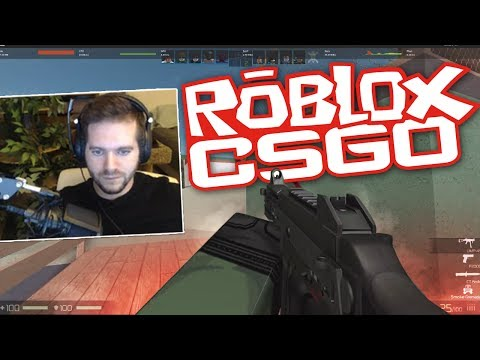 WTF IS ROBLOX CSGO ITS LIKE MINECRAFT WITH GUNS