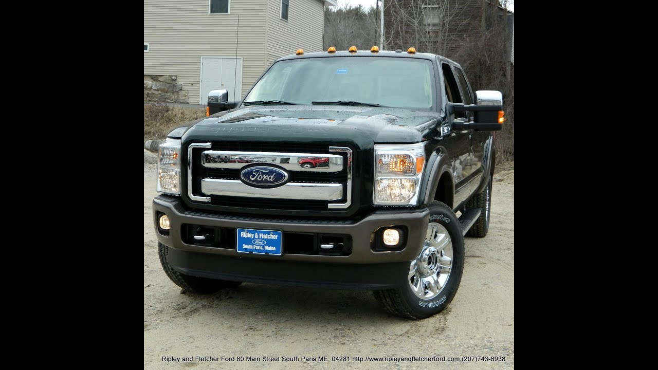 Best Price 2016 Ford F350 Crew Diesel 4X4 For Sale Near