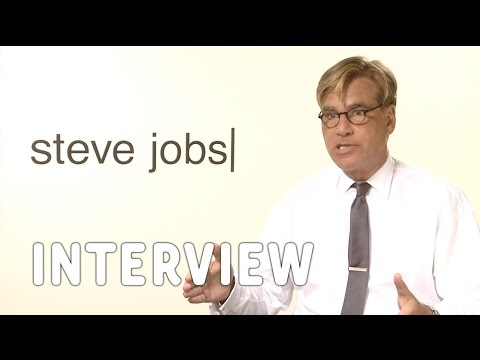 Aaron Sorkin on Writing for Theatre and Teaching His Craft