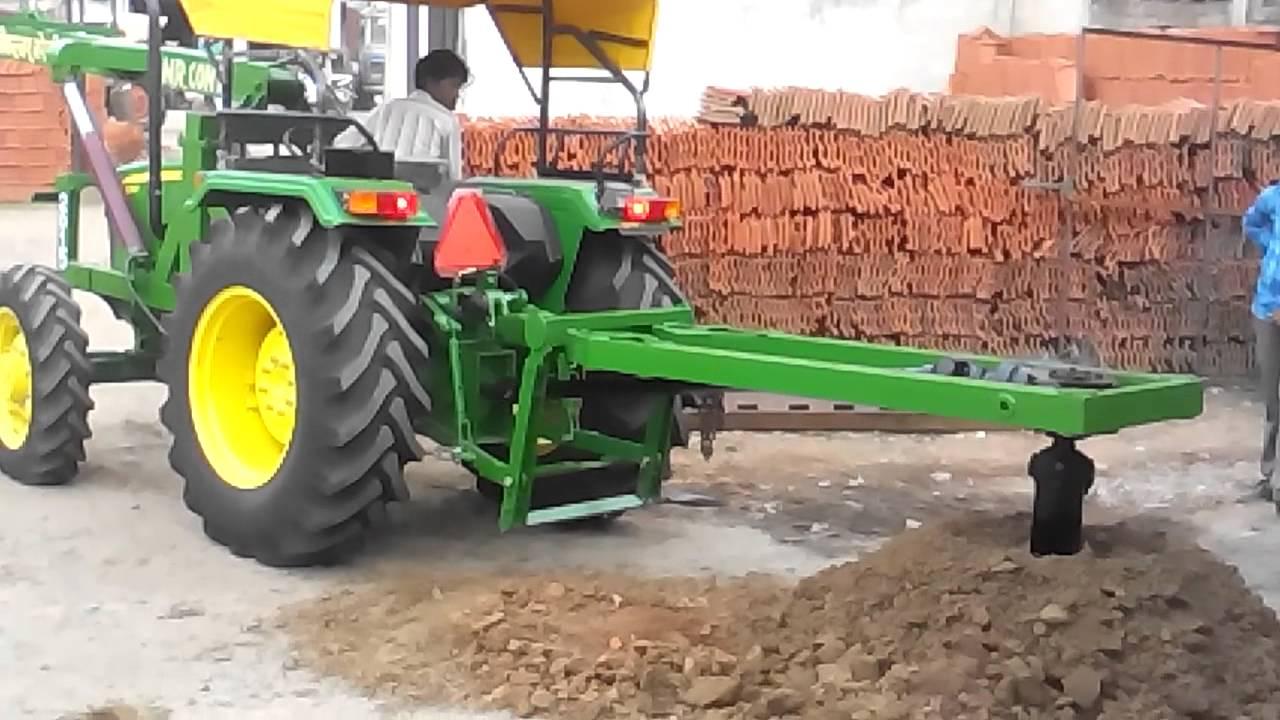 Post hole digger in m p  for vishwakarma Agri works bareli 09981017272