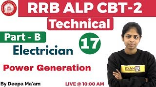 Class 17 ||#RRB ALP CBT-2 Technical | Electrician/Electronics | By ...