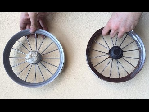 how to clean stroller wheels
