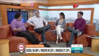 Buen día Uruguay - Elecciones Argentinas 26 de Octubre de 2015