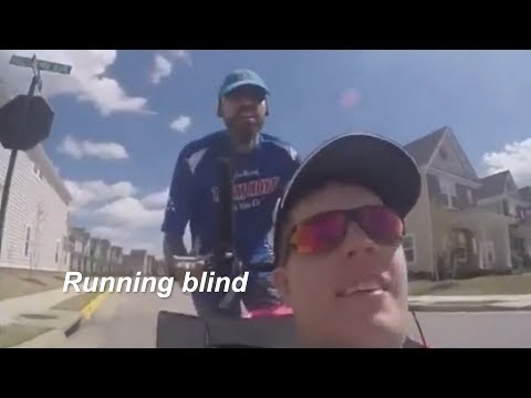 Michael Davis: Running blind