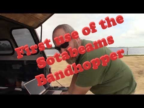 First Use Of The SOTABeams Bandhopper 3+ 20 30 40 Meters 082119