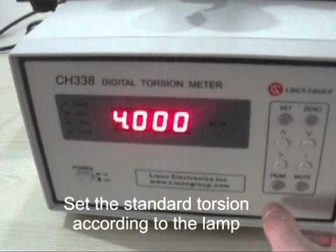 CH338 Digital Torsion Meter