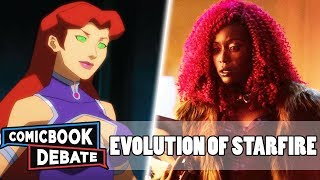 Evolution of Starfire in Cartoons, Movies & TV in 10 Minutes (2018)